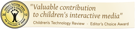 Editor's Choice Award by Children's Technology Review